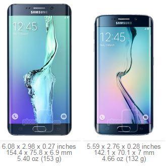 נפלאות מה ההבדל בין גלקסי 6 אדג' לגלקסי 6 אדג' פלוס? (Galaxy S6 edge vs IA-36