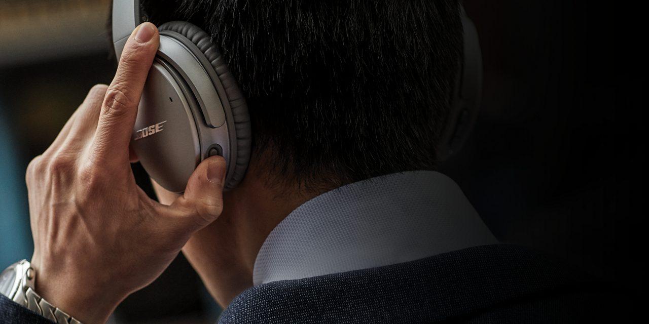 אוזניות QC35 II עם כפתור יעודי לעוזר של גוגל - Google Assistant