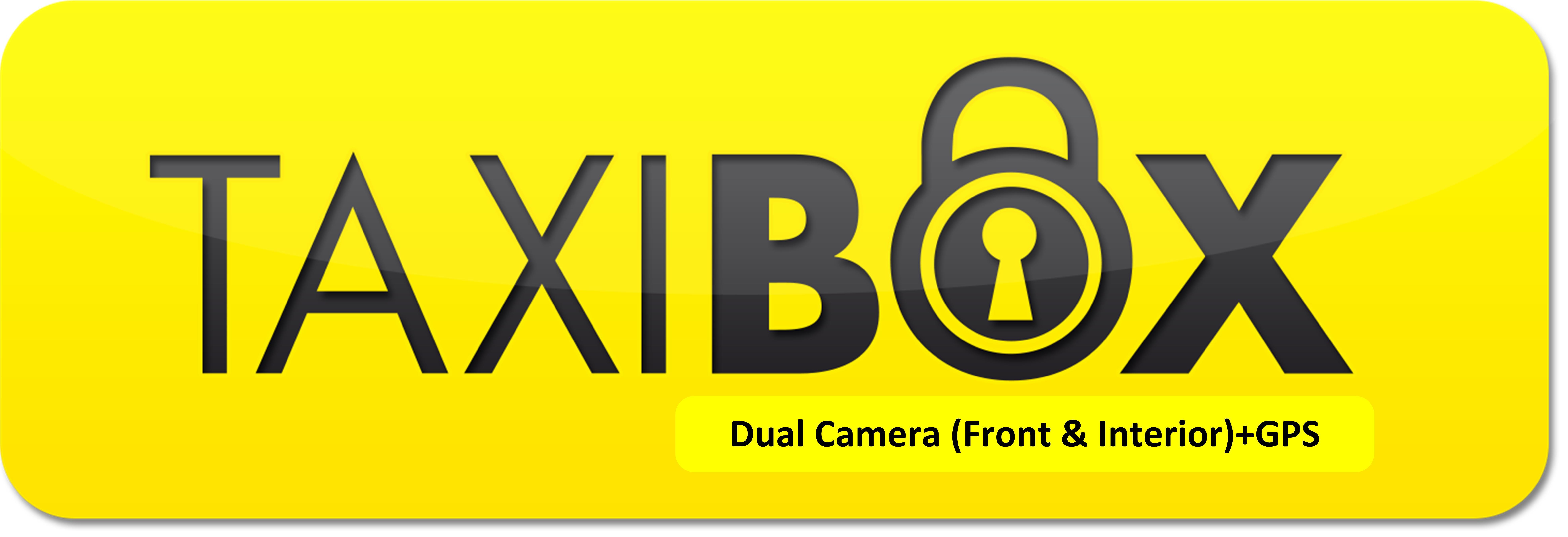 מצלמת דרך עם עדשה פנימית וחיצונית HD עם GPS מותג TAXIBOX