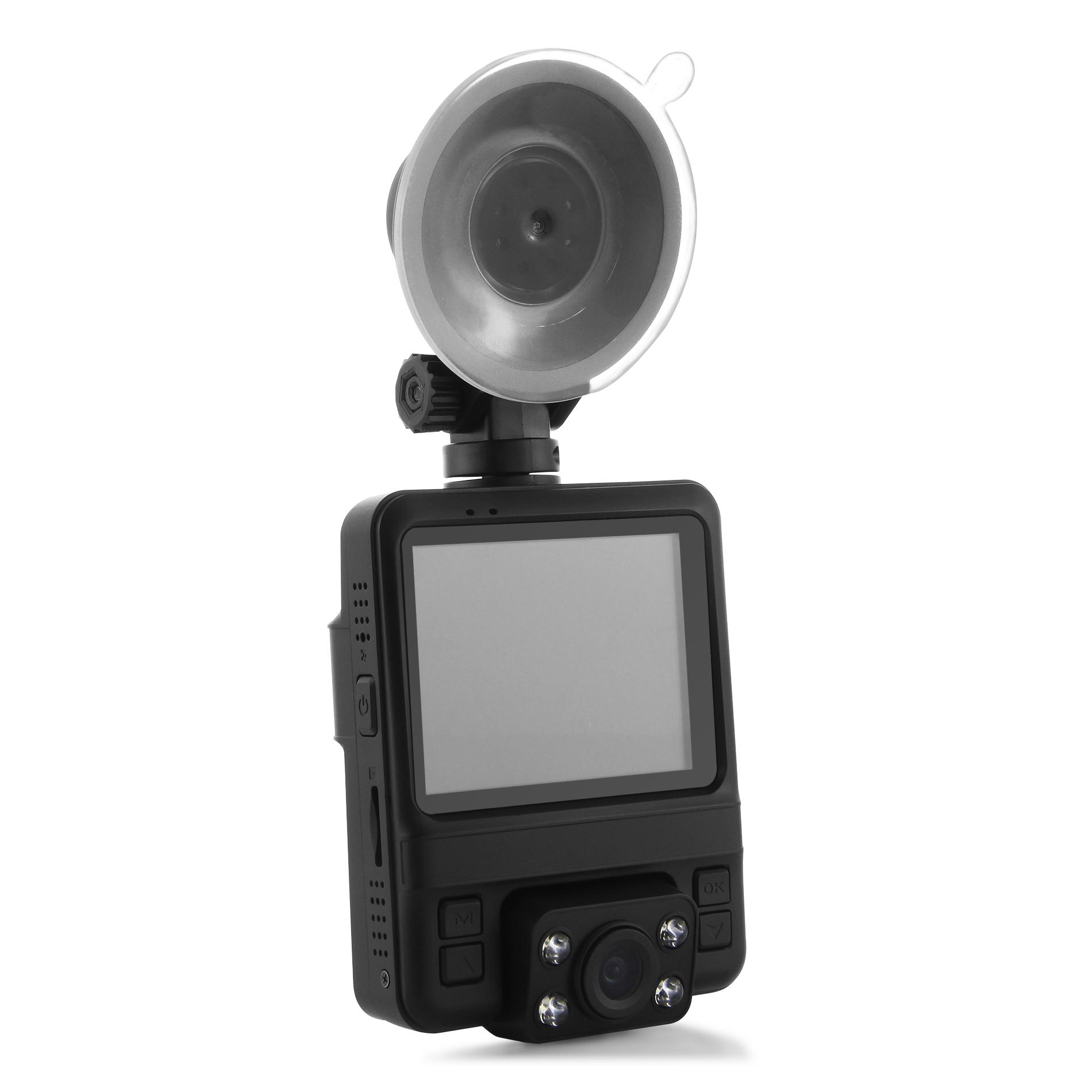 מצלמת דרך עם עדשה פנימית וחיצונית HD עם GPS מותג TAXIBOX - ערכה לרכב
